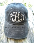 Monogrammed Ladies Hat