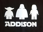 Lego Star Wars Vinyl Decal
